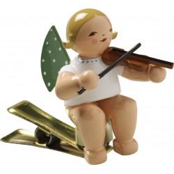 Engel auf Klemme mit Geige