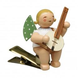 Engel auf Klemme mit Banjo