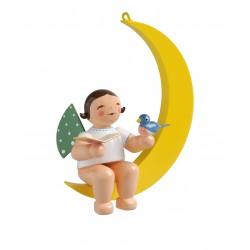 Engel im Mond mit...