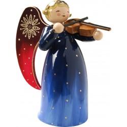 Engel reich bemalt mit Violine