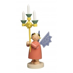 Kronenengel mit Leuchter