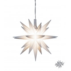Miniaturstern - Ø 8 cm, weiß