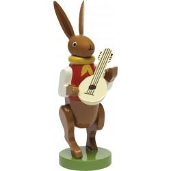 Hasenmusikant mit Mandoline