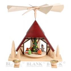 Tischpyramide Kinderweihnacht