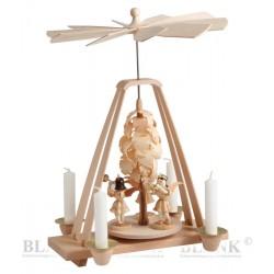 Tischpyramide mit Spanbaum...