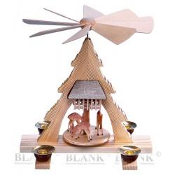Tischpyramide mit Rehen