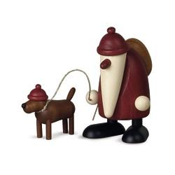 Weihnachtsmann mit Dackel...
