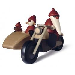 Familienausflug auf Motorrad