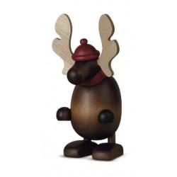 Elch Olaf stehend