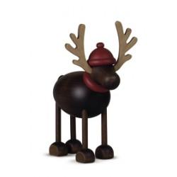 Rentier Rudolph stehend
