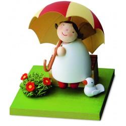 Schutzengel mit Schirm auf...