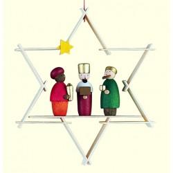 Stern mit Heiligen Drei...