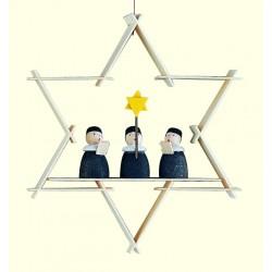 Stern mit Kurrendesängern