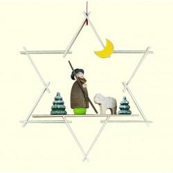 Stern mit Hirte und Schaf
