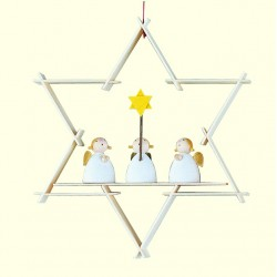 Stern mit Schutzengeln