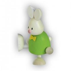 Kaninchen Max tanzend