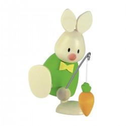 Kaninchen Max mit Angel und...