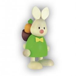 Kaninchen Max mit Rucksack...