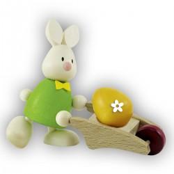 Kaninchen Max mit...