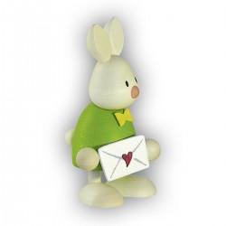 Kaninchen Max mit Liebesbrief