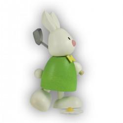 Kaninchen Max beim Golf,...