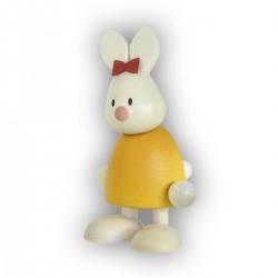 Kaninchen Emma, stehend
