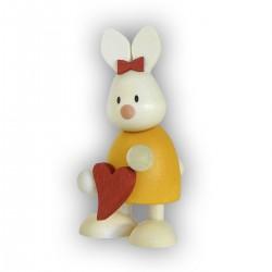 Kaninchen Emma mit Herz