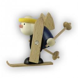 Engel Hans mit Ski