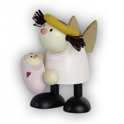 Engel Lotte mit Baby - Mädchen