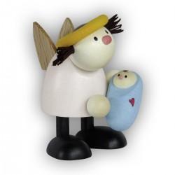 Engel Lotte mit Baby - Junge