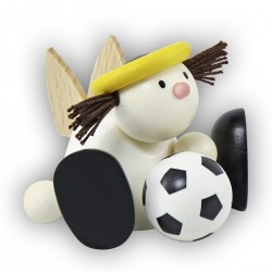 Engel Lotte mit Fußball