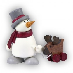 Schneemänner Otto mit Elch