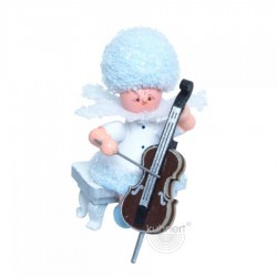 Schneeflöckchen mit Cello