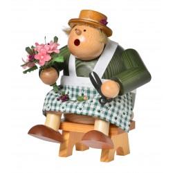 Kantenhocker Floristin (...