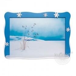 Schneeflöckchenbild, Grashalme