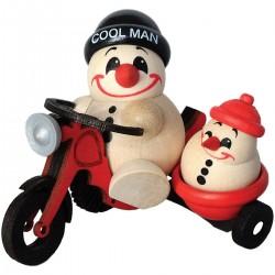 Cool Man mit Motorrad mit...