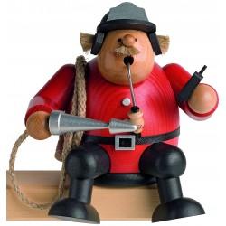 Kantenhocker Feuerwehrmann