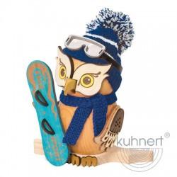 Räuchereule Snowboarder