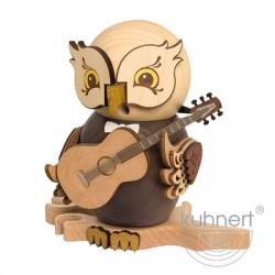 Räuchereule Gitarre