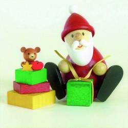 Weihnachtsmann mit Geschenk...