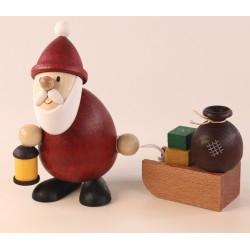 Weihnachtsmann mit Laterne...
