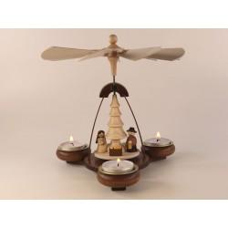 Teelichtpyramide Christi...