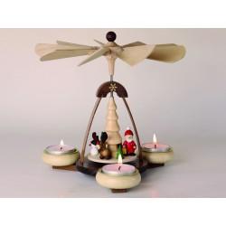 Teelichtpyramide...