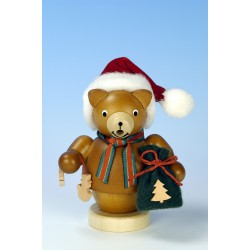 Räuchermann Weihnachtsmann Bär