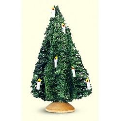 Weihnachtsbaum mit Kerzen