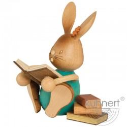Stupsi Hase mit Büchern