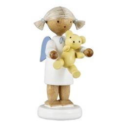 Flade Engel mit Teddybär