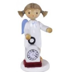 Flade Engel mit Uhr Nr. 3
