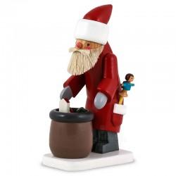 Flade Weihnachtsmann mit Sack