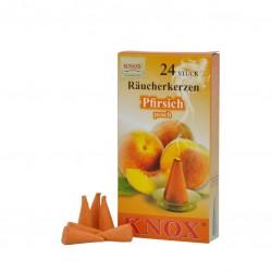 Knox Räucherkerzen - Pfirsich